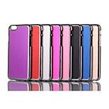 The New Metal wire Drawing Case Cover for iPhone 6 Assorted Color