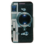 Kinston® Camera Pattern Full Body PU Cover with Stand for HTC One M7/M8/M9 and HTC Desire 816/826/Eye