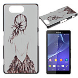Back Pattern Painted PC Material Phone Case for Sony Z3 Mini