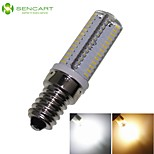 E14 5W 104x3014SMD 450LM 3500K 6000K Warm White/Cool White Home / Office LED Corn Lights  AC110V