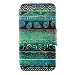 Kinston® Green Totems Pattern Full Body PU Cover with Stand for HTC One M7/M8/M9 and HTC Desire 816/826/Eye