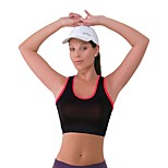 Running Bra / Tank Women's Breathable Polyester / Elastane Yoga / Pilates / Exercise & Fitness / Racing / Cycling/Bike Stretchy Tight