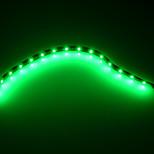 [10pcs / lot] 5w 30cm 15xsmd3528 rojo / verde / azul llevó la luz de tira de bricolaje llevó la lámpara auto (DC12V)