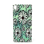 Fashion Design COCO FUN® Green Daisy Pattern Soft IMD TPU Case Cover for Sony Z4