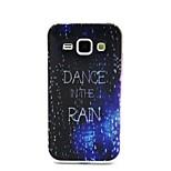 design vestimentar coco fun® de mers pe jos în ploaie model IMD moale capacul caz TPU pentru Samsung Galaxy J1
