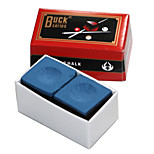 A BOX OF 2 x PIECES OF billiard snooker Buck  CHALK AVAILABLE IN two COLOURS