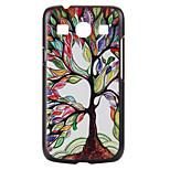farvede træer mønster pc materiale telefon Taske til Samsung Galaxy kerne plus G350