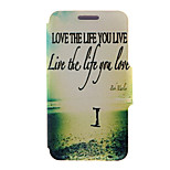 Kinston® Love Pattern Full Body PU Cover with Stand for HTC One M7/M8/M9 and HTC Desire 816/826/Eye