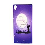 Fashion Design COCO FUN® Star Bubble Pattern Soft IMD TPU Case Cover for Sony Z4