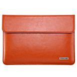 MOENCASE Solid Color Genuine Leather Full Body Case for MacBook Air 11.6''