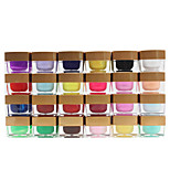 24pcs Nail Art Dismountable Phototherapy  Pure Diamond Color Gel Kits(8ml)