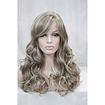 Light Brown Mix Blonde Curly 22