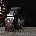 Men Leather Waist Belt , Work/Casual Alloy