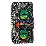 Kinston® Special Shining Eye Pattern Full Body PU Cover with Stand for HTC One M7/M8/M9 and HTC Desire 816/826/Eye