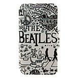 kinston® die Beatles Muster Ganzkörper-PU-Abdeckung mit Standplatz für htc eins M7 / M8 / M9 und HTC Desire 816/826 / Augen