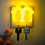 Creative Can Hang the Key Small House Sensor Relating to Baby Sleep Night Light(Assorted Color)