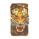 Kinston® Tiger Head Pattern PU Leather Full Body Cover with Stand for HTC One M9 Plus/ HTC One M9+