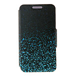 Kinston® Night Glowing Sparkle Pattern PU Leather Full Body Cover with Stand for Huawei Honor 6X/6 Plus