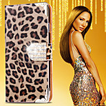Crystal Sparkling Leopard Diamonds Full Body Case for iPhone 5/5S(Assorted Color)
