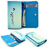 Heart PU Leather Wallet style Full Body Case and Card Slot for Nokia N8