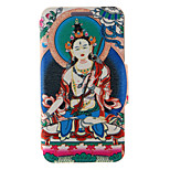 Kinston® Religious Pattern Two Pattern PU Leather Full Body Cover with Stand for HTC One M9 Plus/ HTC One M9+