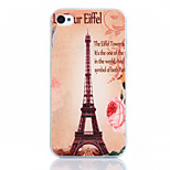 Transmission Tower Pattern TPU Material Soft Phone Case for iPhone 4/4S