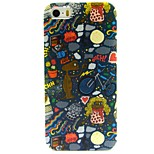 Cartoon Pattern TPU Soft Back Case for iPhone 5/5S