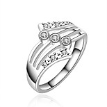 Women's Vintage Grandiloquent 925 Silver Plated Ring