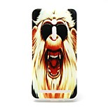 Ferocious Monkey  Pattern TPU Material Phone Case And Screen Protector  for Asus Zenfone 2