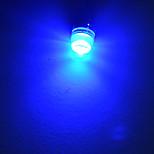 Lichtdekoration T10 1.5 W 90lm LM Blue K 1 High Power LED Blau/Kühles Weiß DC 12 V