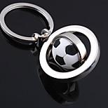 Unisex Alloy Casual Keychain Fashion Revolve Football Key Chains