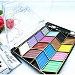 15 Eyeshadow Matte / Shimmer Eyeshadow palette Powder Normal