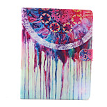 Watercolor Pattern PU Leather Full Body Case with Stand for iPad 2/3/4