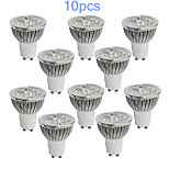 10 Stück MORSEN Dimmbar PAR Lampen PAR GU10/GU5.3 5 W 350-400 LM K High Power LED Warmes Weiß/Kühles Weiß AC 220-240/AC 110-130 V
