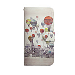 Coloured Drawing or Pattern Graphic PU Leather Full Body Cases for iPhone 6/6S