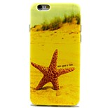 Starfish Pattern TPU Material Soft Phone Case for iPhone 6 Plus
