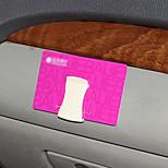 SHUNWEI®Car Business Card Holder Vehicle 3M Glue Connection Hook(Color Selection)