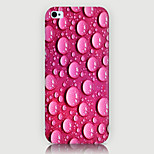 Water Droplets Pattern Phone Back Case Cover for iPhone5C