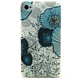 Lotus Pattern TPU Soft Back Case for iPhone 4/4S