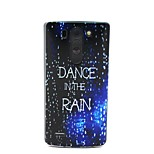 COCO FUN® Walking In The Rain Pattern Soft TPU IMD Back Case Cover for LG G3 MINI