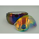 LY-100 Unisex Ski Goggles  Anti-Fog/Anti-UV/Scratch-resistant/Shatter-proof PC/UV TPU/REVO lens