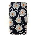 Kinston® Beautiful Daisies Pattern Full Body PU Cover with Stand for HTC One M7/M8/M9 and HTC Desire 816/826/Eye