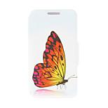 kinston® mit Ständer für htc eins m9 blenden schönen Schmetterling Muster PU-Leder Ganzkörper-Abdeckung plus / HTC ein M9 +