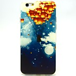 Lanterns Pattern TPU Material Soft Phone Case for iPhone 6