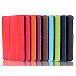 Top Selling Solid Color Custer Luxury Leather Flip Full Body Case for Asus FE171 (Assorted Colors)