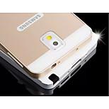 mode speciale ontwerp hoogwaardige metalen achterkant voor Samsung Galaxy Note 3