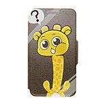 Kinston® Giraffe's Question Pattern PU Leather Full Body Cover with Stand for HTC One M9 Plus/ HTC One M9+