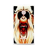 Ferocious Monkey Pattern TPU Material Phone Case And Screen Protector for Microsoft Lumia 435