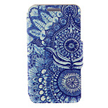 Kinston® Retro Sunflower Eye Pattern PU Leather Full Body Cover with Stand for HTC One M9 Plus/ HTC One M9+