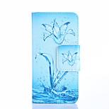 Fashion Design COCO FUN® Crystal Flower Pattern Wallet Slot Full Body PU Leather Case for LG G3 MINI